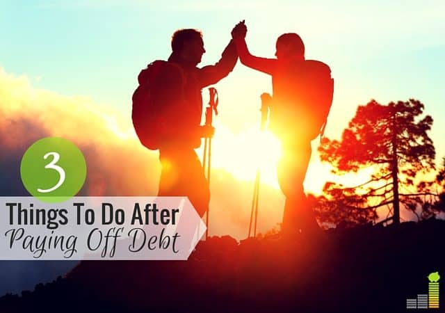 Becoming debt free is great, but what do you do after you hit debt freedom? Here are 3 key things to do after paying off debt.