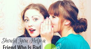 Should you help a friend that's bad with money? It's always a tricky situation, but here are some options to consider instead of giving money.