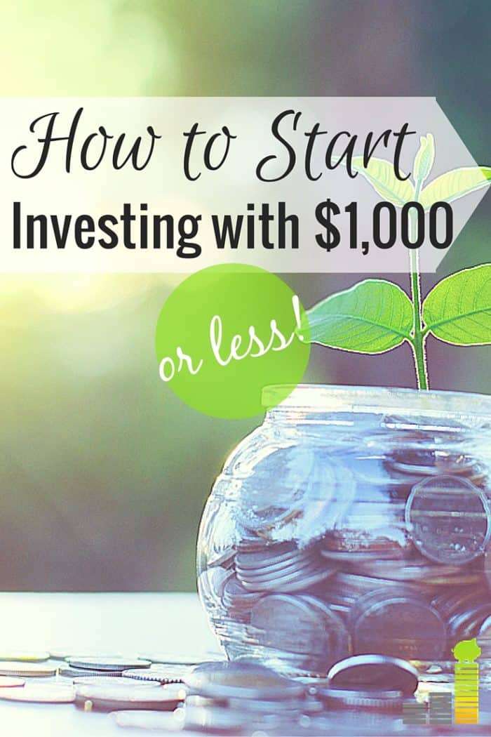 You can start investing with $1,000 or less, though many think you can't. Here are 7 ways you can invest $1,000 or less and begin to grow your wealth.