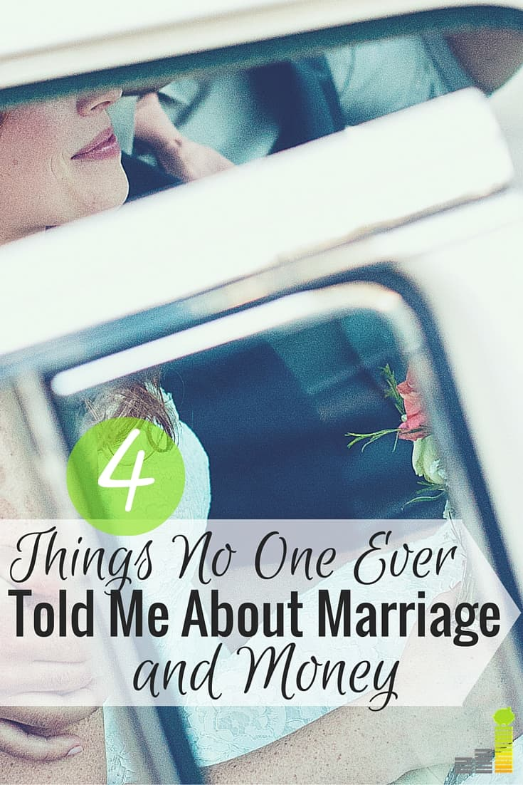4 Things No One Ever Told Me About Marriage and Money