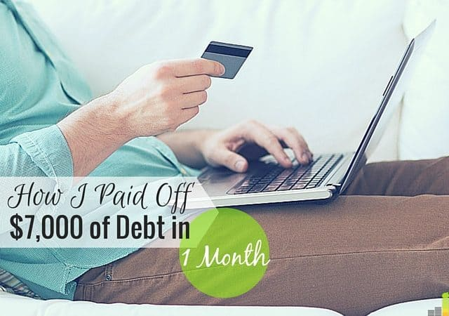 Paying off debt can be a challenge when you have so much. I share how I paid off $7,000 in one month and kickstart my debt repayment goals.