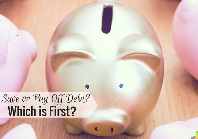 Should you pay off less debt and have more in savings? I share what I decided to do and what you need to consider if trying to juggle both.