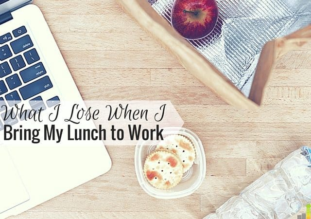 Bringing my lunch to work saves money, but I also lose out on many things. Here are some of the reasons why I started to bring my lunch to work.