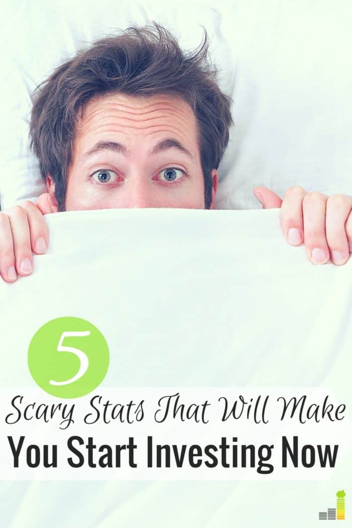 Scary investing facts reveal how important it is to start investing ASAP. Here are 5 investing facts and how to not let them hold you back.