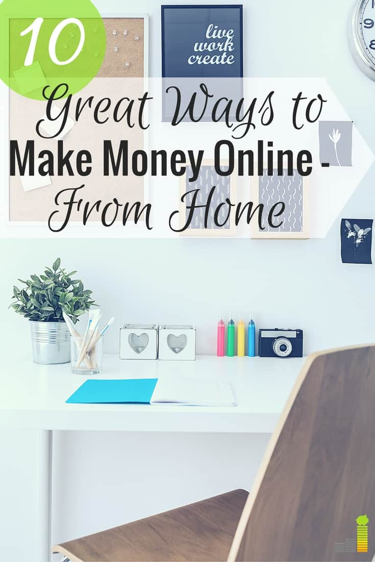 great ways to make money online 10 great ways to make money online from home frugal rules 8692