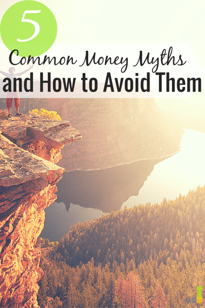 Money myths can ruin your finances and hold you back in life. Here are 5 common money myths and how to combat them to grow your money.