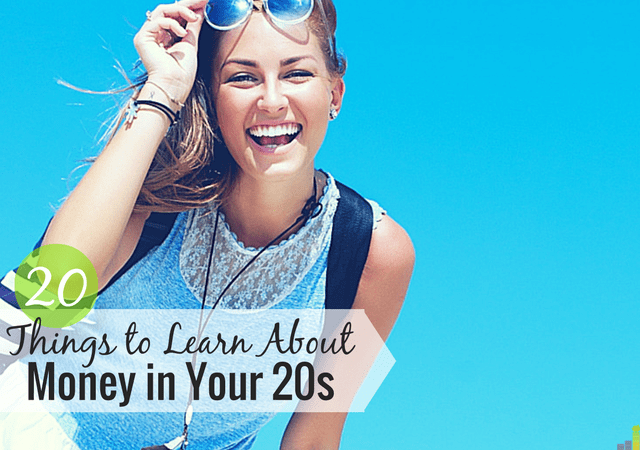 Being 40, there are many money lessons I'd give my 20-year old self. Here are some of the financial lessons I'd give my younger self.