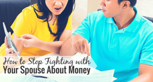 Do you fight about money with your spouse? It can be hard on a marriage. Here are 3 key ways to stop fighting about money with your partner.