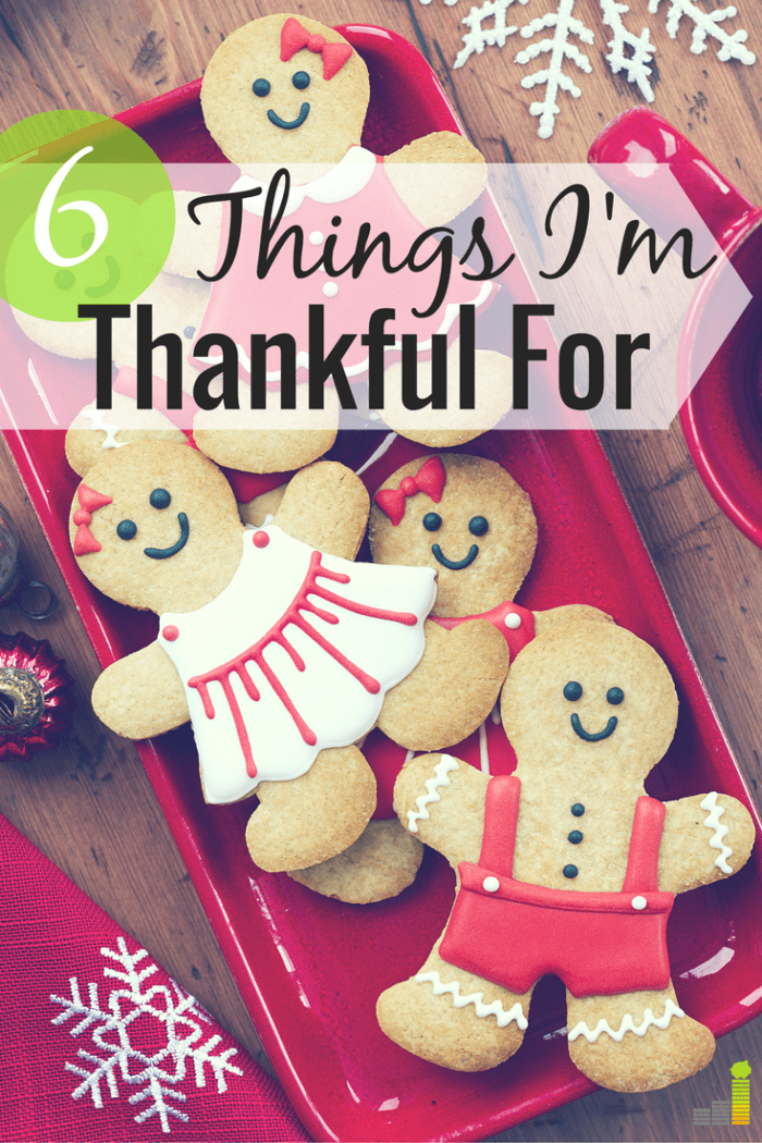 It's Thanksgiving week which means it's time to think about what you're thankful for. Here's what I'm most thankful for this year.