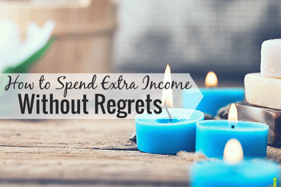 Don't know how to spend extra income? Here are 4 ways to spend your extra money that still allow you to enjoy life without adding extra debt.