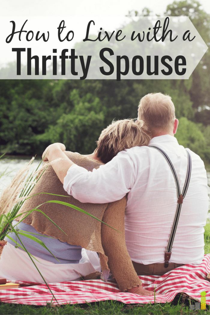 Do you have a thrifty spouse but don't know how to get along? Here are 5 ways to come together to find balance to make both happy.