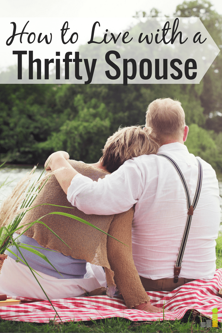 How to Get Along With a Thrifty Spouse