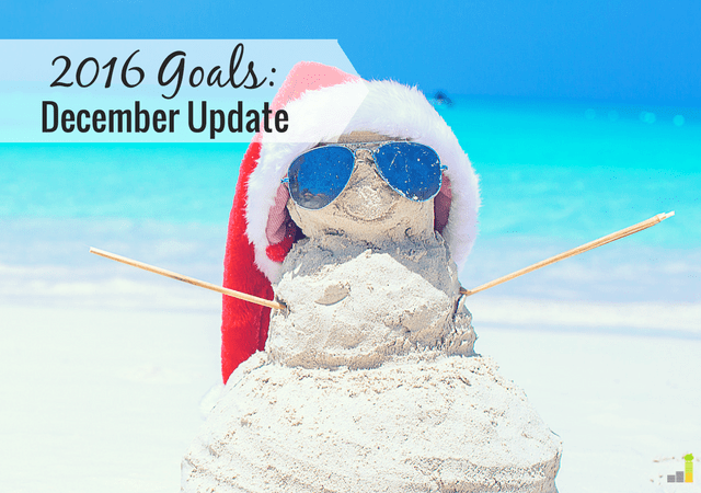 It's nearly the end of the year, which means it's time to go over goals. Here's how 2016 shaped up and what I did well with and struggled with.