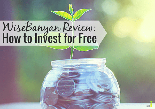 WiseBanyan allows you to start investing for free. Read my WiseBanyan review to see how you can start investing as little as $1!