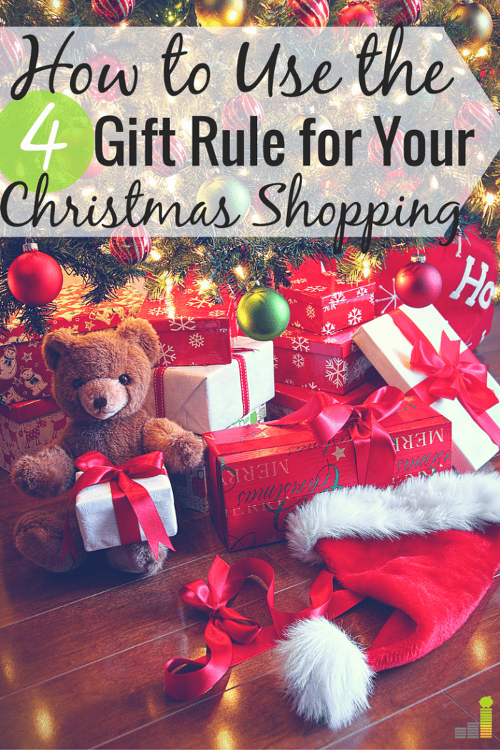 Does the four gift rule wok for Christmas shopping? I take an honest look at my holiday spending to find out to see if it really works.