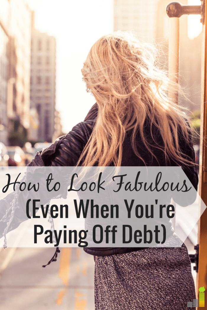 There are many ways to look and feel fabulous when you're paying off debt. Here are some of my favorite ways to feel good while paying off debt.