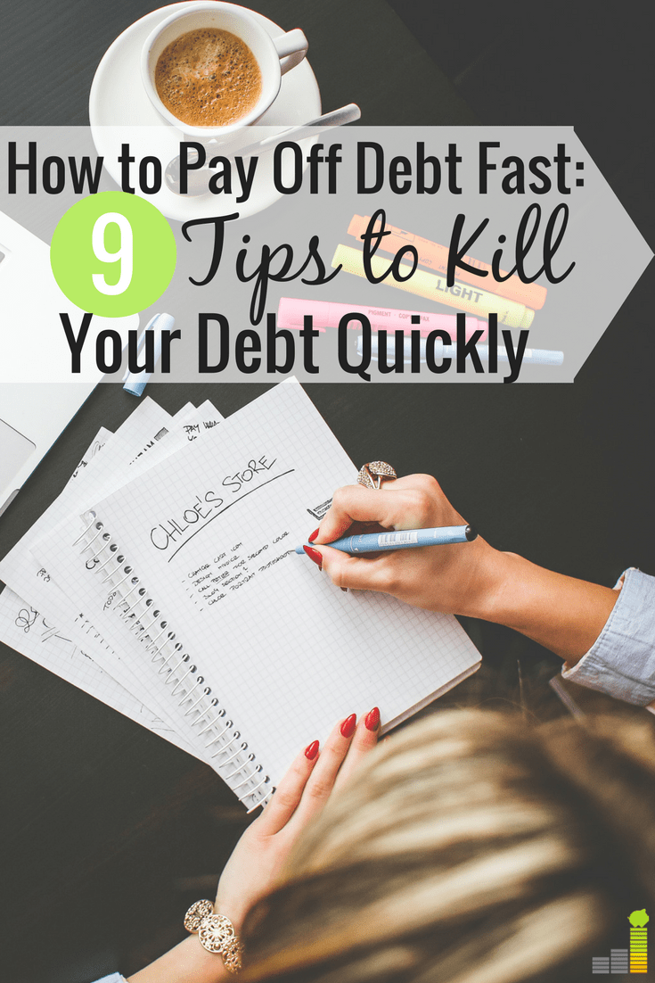 how to pay off my debt fast
