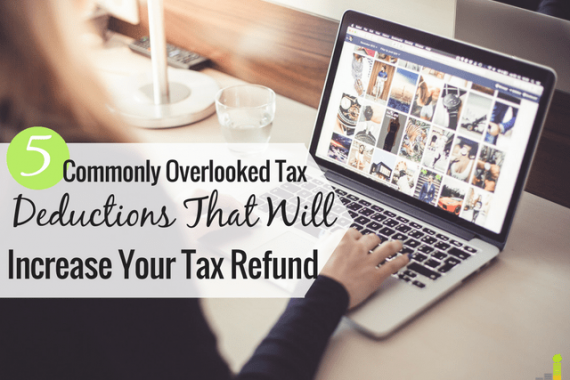 Commonly overlooked tax deductions are easy to miss, but can help save money come tax time. Here are 4 overlooked tax deductions not to miss for 2016.