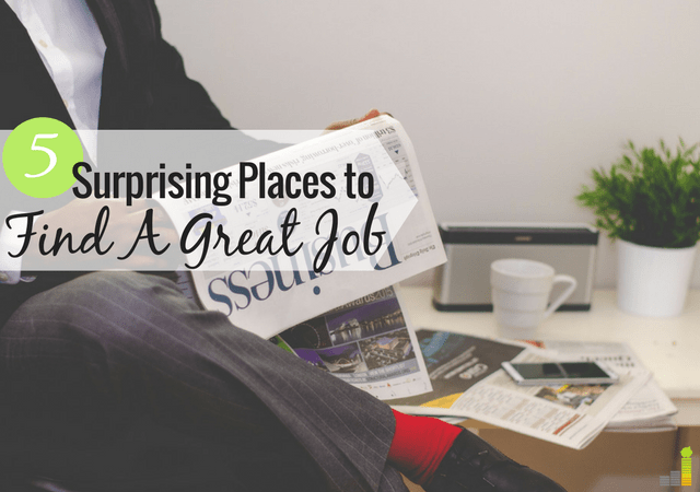 5 overlooked ways to find a great job