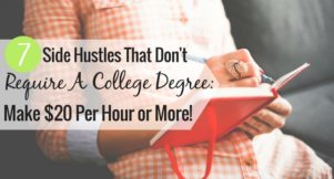 Some side gigs require a college degree, but many don't. Here are 7 side hustles you can do to make extra money that don't require a college degree.