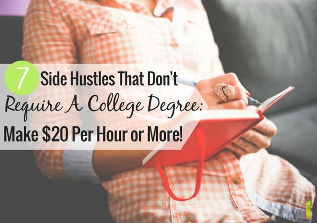 7 awesome side gigs that don u0026 39 t require a college degree