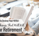 A 401k plan is a great way to save for retirement, but some abuse it. Here are 4 things you should never do with your 401k as it can cost you money.