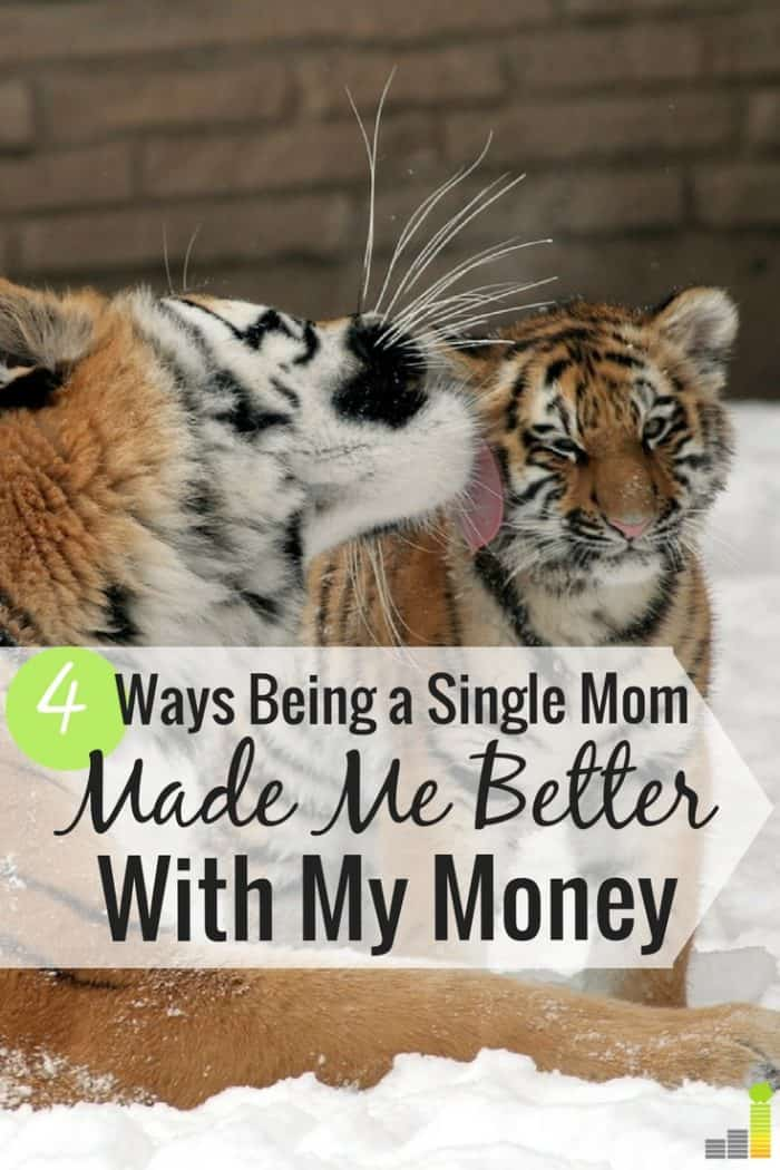 Being a single Mom taught me a lot about money, some good and some bad. Here are the 4 top money lessons I learned and how I use them today.