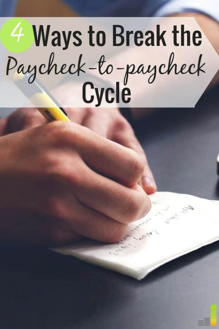 Do you feel great about your money at the end of the month, or do you have nothing left? Here are 4 simple ways to break the cycle and feel good, not bad.