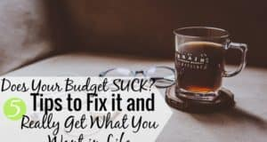 Have you tried to budget, only to have it blow up in your face? It's not you, it's the budget. Here's how to budget well and how to get what you want.