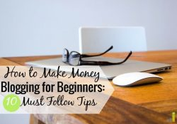 New to blogging and looking for tips to grow your blog? I share some of my top blogging tips I've used to make money blogging and replace my income.