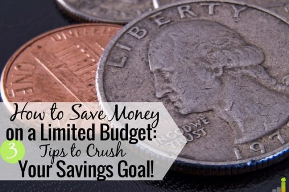 Trying to save money when your income is low is no easy task. In fact, most people just give up because it seems impossible. It's hard but it can be done.
