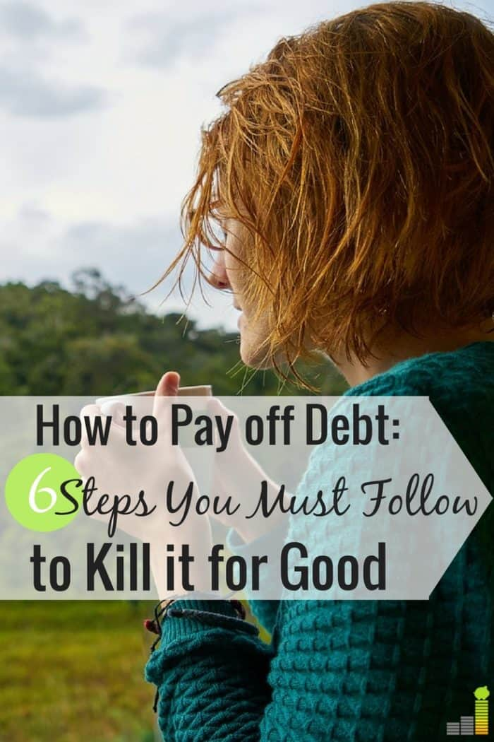 Want to know how to start paying off debt, but don't know where to start? Here are the 6 first things you need to do to become debt free faster.