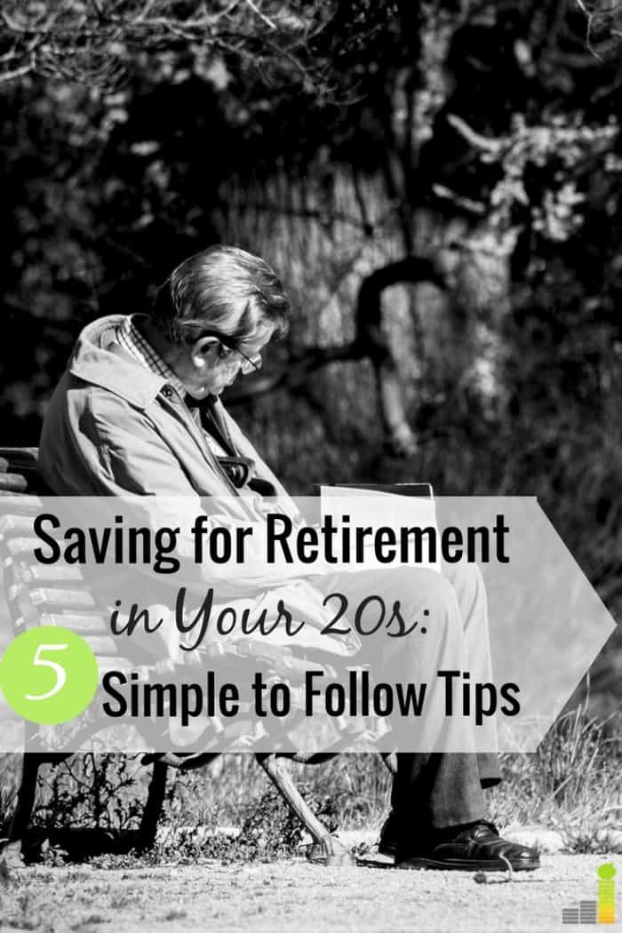 Saving for retirement in your 20s is a great way to give your money time to grow. Here are 5 ways to start saving for retirement early that anyone can do.