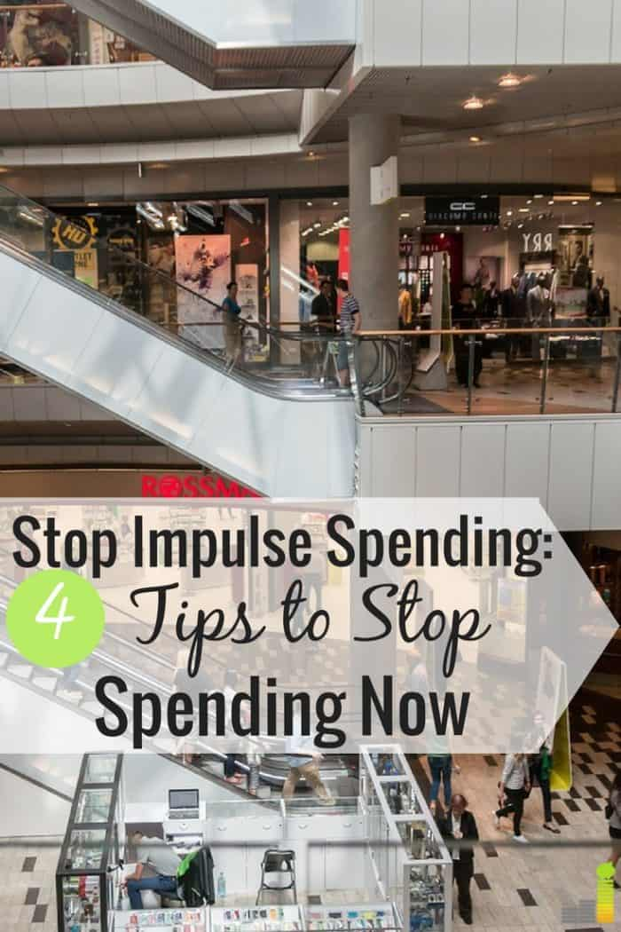 Impulse spending can ruin your finances. I share my top 4 tips to stop impulse shopping and gain control over your finances for good.