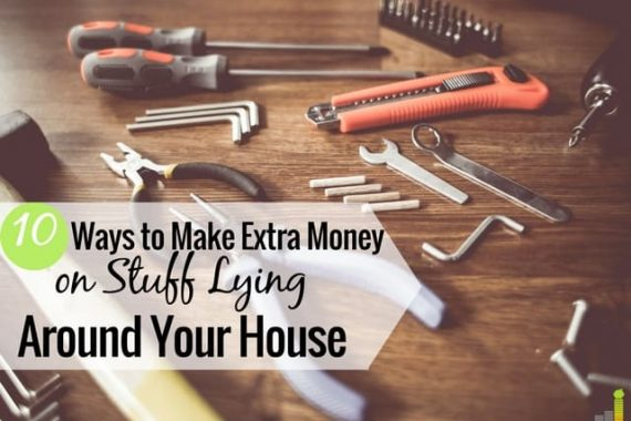 Do you have hidden income lying around your house? Here are 10 sources of extra money you may not realize you have in your home.