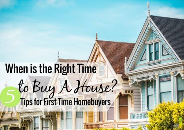 The right time to buy a house is a personal choice, with many factors for Millennials. Here are 5 ways to know if it's the right time to buy.