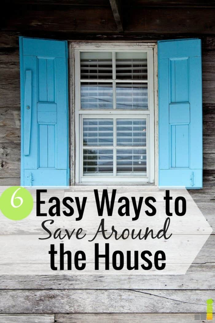 Want to save money around the house but don't know how? Here are 6 ways to save money at home that can help you rack up big savings!