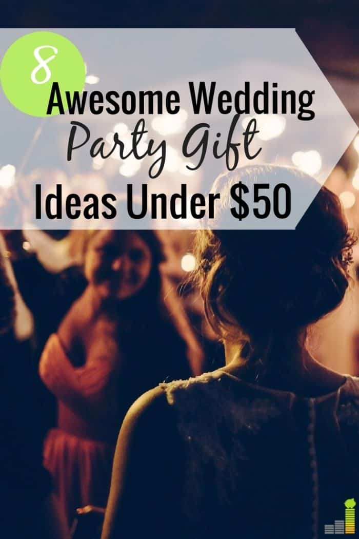 Best man and maid of honor gifts can add to an already expensive. Here are 8 gifts for your wedding party under $50 that are memorable and fun.