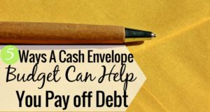 A cash-only budget has many benefits - especially when paying off debt. Here's how to use a cash budget to pay off debt, in 5 simple steps.