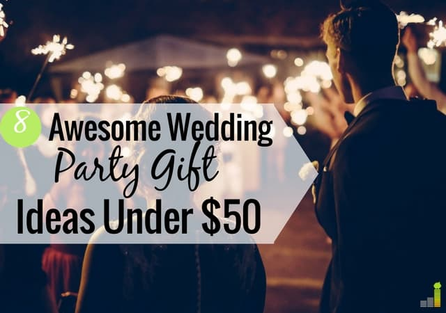 Normal Wedding Gift Amount: Killer Best Man And Maid Of Honor Gifts Under $50