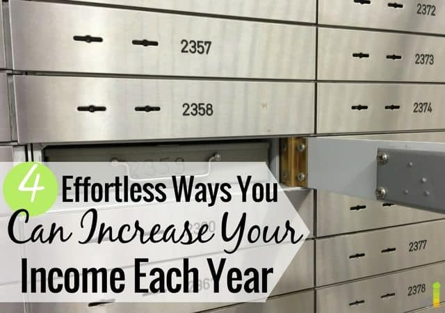 Want an annual raise, but don't know where to start? Here are 4 ways you can give yourself a 4-figure raise each year with little effort.