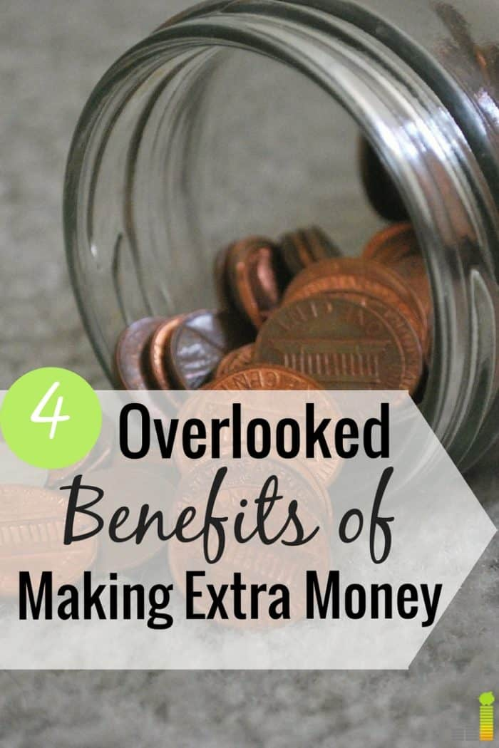 Is it wrong to make extra money? I don't think so. Here are 4 ways making extra money can make your life fuller and more enjoyable.