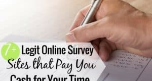Using a legitimate survey company can be a good way to make extra money. Here's how to tell if a survey site is legit, plus ones that pay you cash!