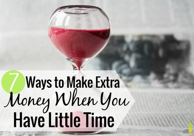 Do you struggle to find time to make extra money? Here are 7 ways I've found time to earn extra money, hit my goals and still enjoy life.