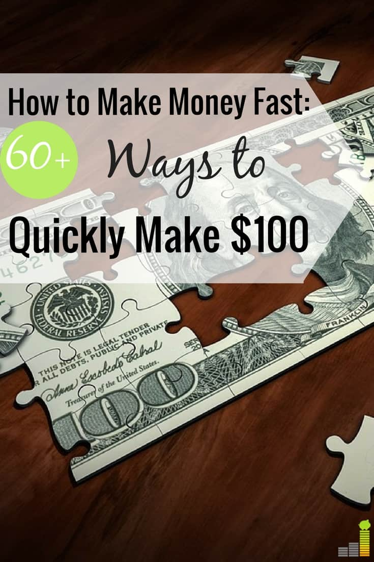 How to Make Money Fast 60 Ways to Quickly Make 100 Top Result 61 Fresh Make Money Fast Gallery 2018 Hht5