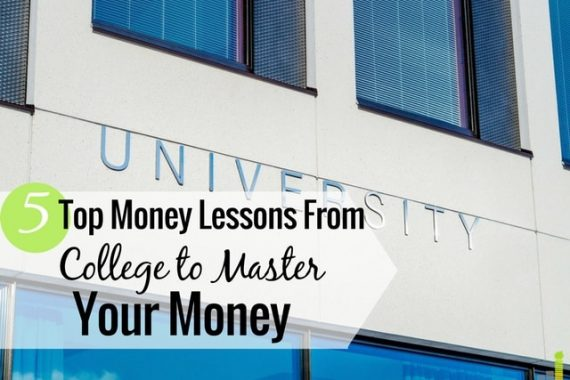 Unfortunately, they don't teach you about money in college. Here are 5 things they should teach and how you can use those to grow wealth for the future.