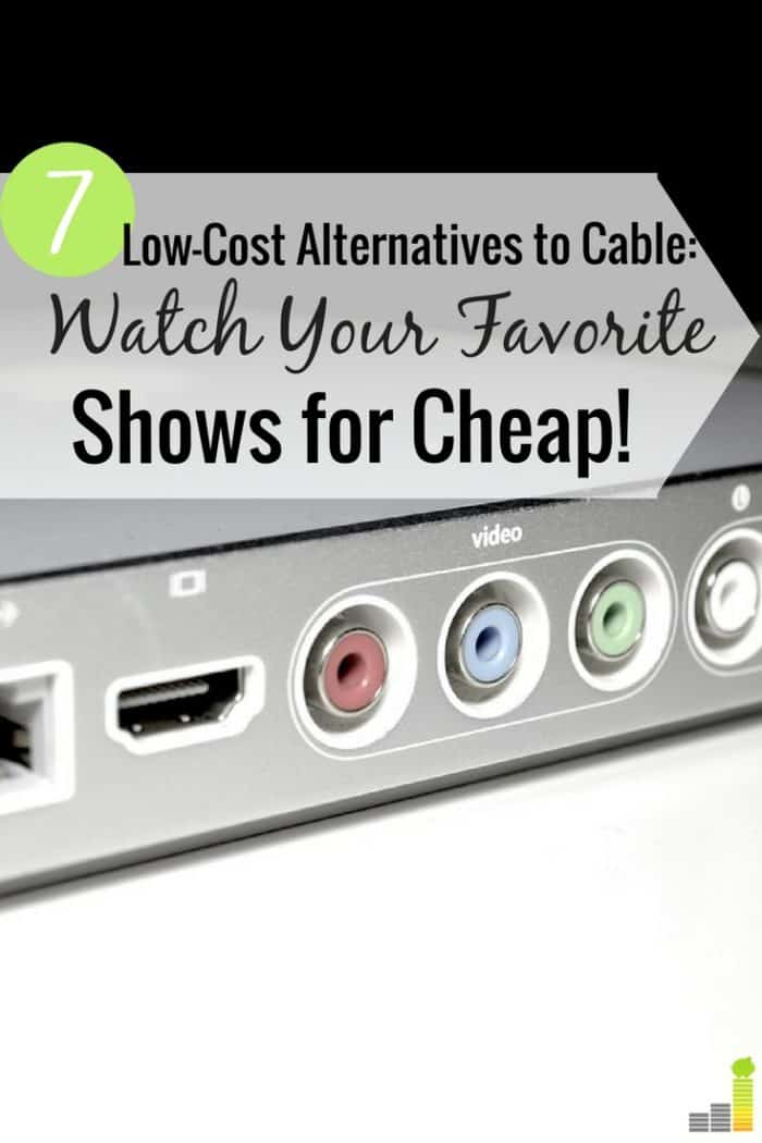 the 7 best tv streaming services to cut cable and save money frugal rules. Black Bedroom Furniture Sets. Home Design Ideas
