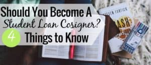 Becoming a student loan cosigner is a good way to help get student loans, but is has a lot of risks. Here's what to know before cosigning on student loans.