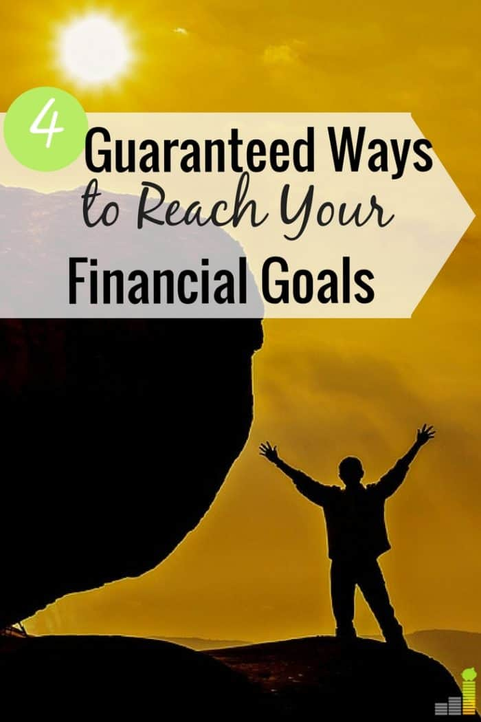 Setting small financial goals is a great way to build confidence to reach bigger goals. Here are 4 ways small goals guarantee success in life.