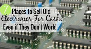 Want to sell old electronics for cash? Here are the 7 best places to sell your old cell phones and electronics for extra money and get rid of clutter.